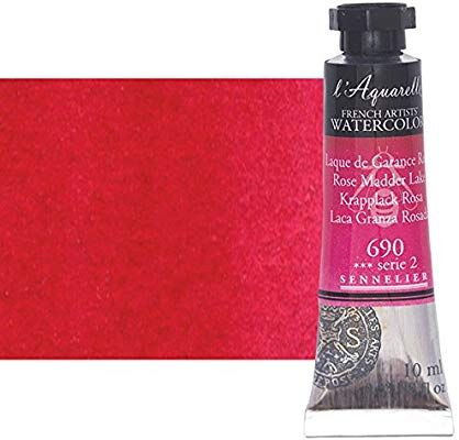 Amazon Com Sennelier L Aquarelle Watercolor Tubes 10ml Rose
