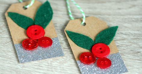 mistletoe #christmas #christmasgifttags...