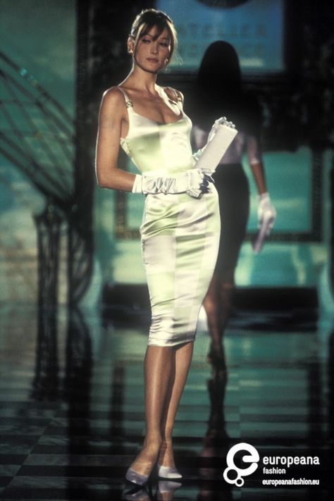 Gianni Versace 1995 Couture He was a Italian fashion designer known for his daring fashions and glamorous lifestyle.