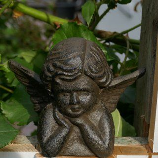 Engel Gabriel Aus Gusseisen Engel Gabriel Engel Engelfiguren