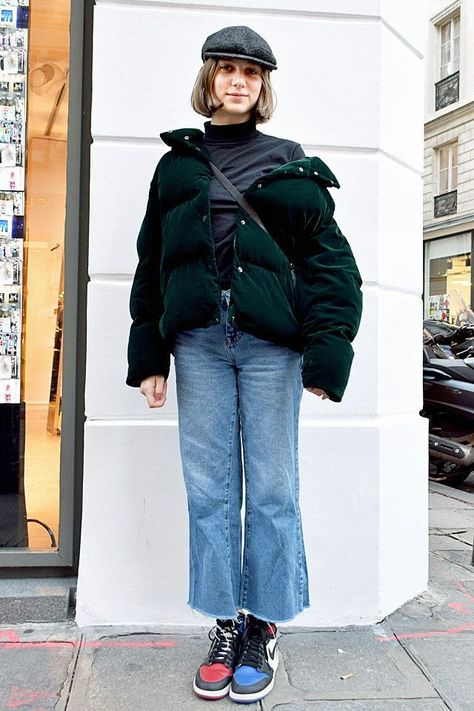 Down jacket + fashionable wide-leg pants = the warmest cp in winter, not only can create a fashionable style, but also warm and casual! - Page 19 of 46 - slleee