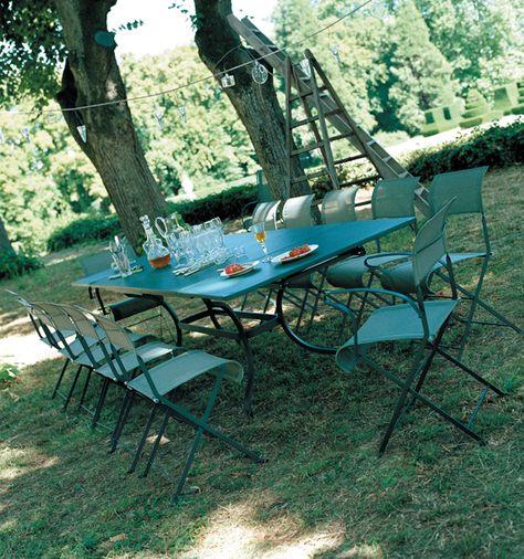 Fermob-salon-de-jardin-romane-dune-grande-tablée-d-été | au jardin ...