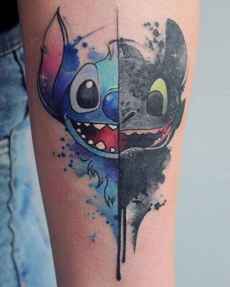 Disney Tattoos For Men, Disney Inspired Tattoos, Disney Sleeve Tattoos, Cute Tattoos For Women, Tattoos For Kids, Small Tattoos, Life Tattoos, Body Art Tattoos, Hand Tattoos