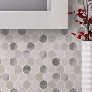 Peel And Stick Backsplash Tile You Ll Love Peel N Stick Backsplash Mosaic Tiles Peel Stick Backsplash