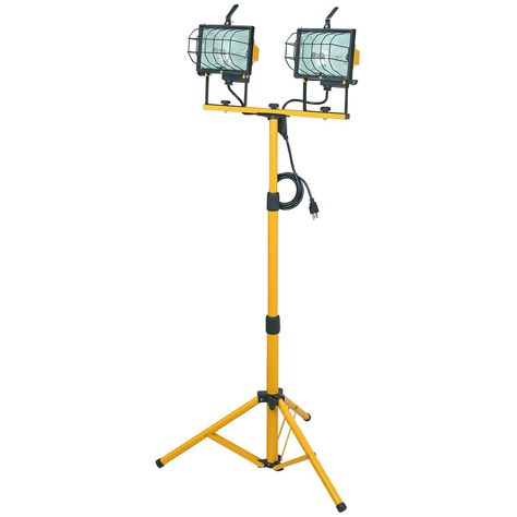 Fixed Dual Head Halogen Work Light Work Lights Halogen Lamp Home Decor
