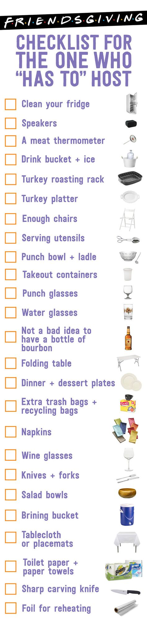 How To Celebrate Friendsgiving Like It's 1998: A Checklist