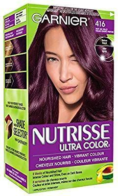 Garnier Nutrisse Ultra Color In 416 Intense Violet Nourished Hair