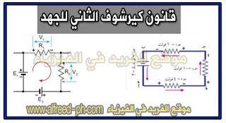 قانون كيرشوف الثاني قانون كيرشوف للجهد الكهربائي Chart Blog Posts Blog