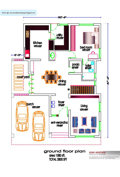 30 X 60 Sq Ft Indian House Plans | Exterior | Pinterest | Indian ...