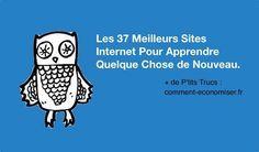 Aujourd'hui, il est désormais possible de se former en ligne sur pratiquement n'importe quel sujet, que ce soit l'apprentissage d'une langue ou la création d'une application iPhone.  Découvrez l'astuce ici : http://www.comment-economiser.fr/37-sites-internet-pour-apprendre-quelques-chose-de-nouveau.html?utm_content=buffer8b0b7&utm_medium=social&utm_source=pinterest.com&utm_campaign=buffer