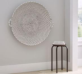 Handwoven Willow Wheel Wall Art 48 Basket Wall Art Baskets On Wall Basket Wall Decor