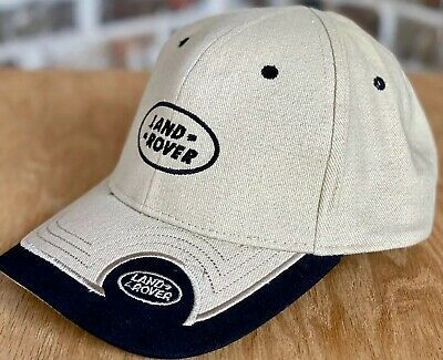 Land Rover Cap Hat Strap Back Khaki Beige Black Embroidered Man Hat Hats Land Rover