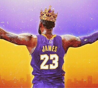 Nba Basketball Lakers Heat Cavs Lebron James 13 X19 Poster Print Art 006 Fashion Home Gard In 2020 Lebron James Lakers Lebron James Poster Lebron James Wallpapers