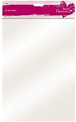 Papermania Wachspapier A4 10 St Amazon De Kuche Haushalt Mit Bildern Wachspapier Bastelutensilien Papier
