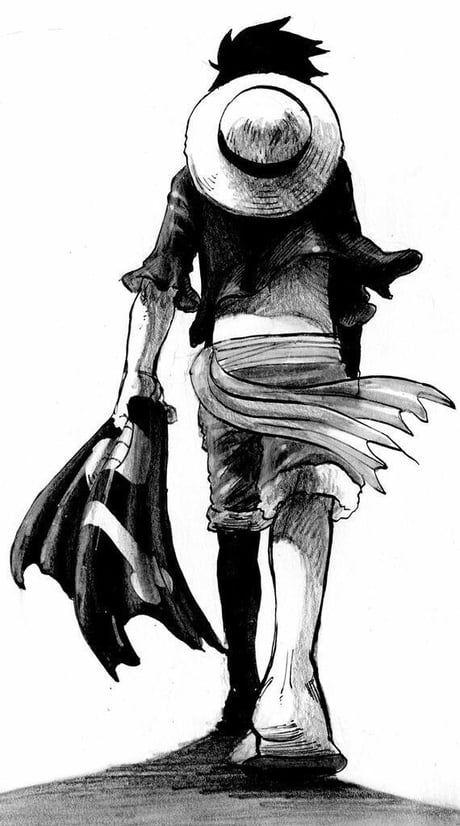 Monkey D Luffy Monkey D Luffy One Piece Drawing One