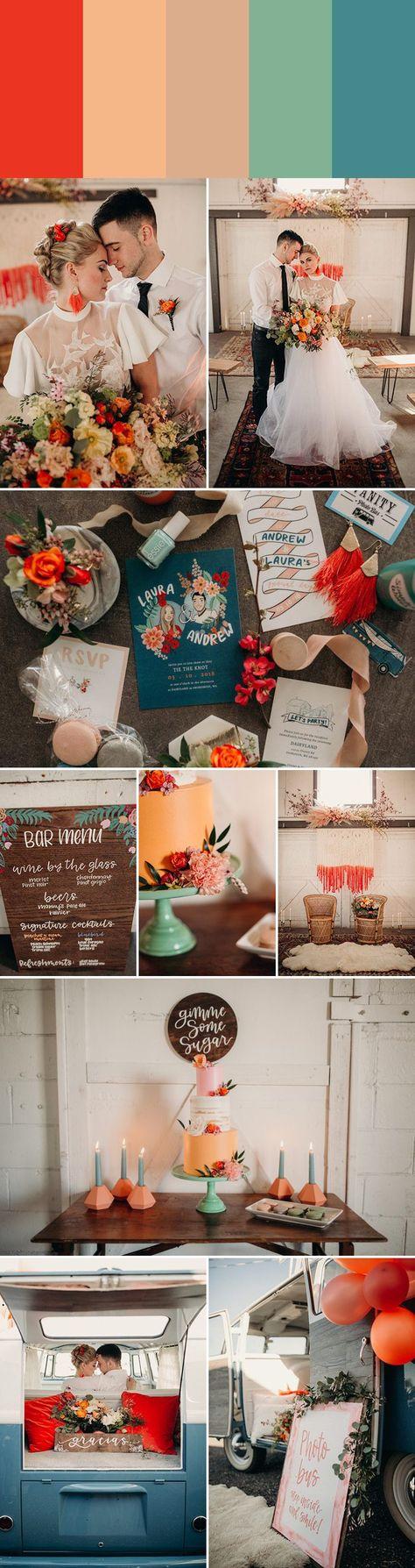 5 Fresh Wedding Colors for Summer 5 Fresh Wedding Colors for Summer - Wedding