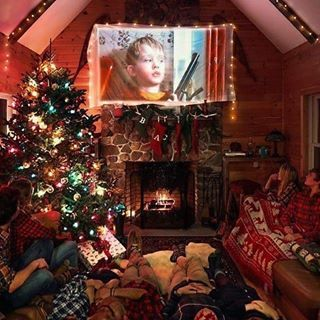 This Is So Cozy And Christmassy Qotp Favourite Home Alone Movie Aotp The First And The Second One Christmas Dorm Christmas Wallpaper Christmas Aesthetic