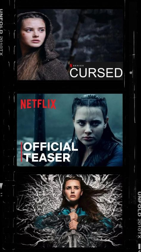 CURSED ON NETFLIX. July 17. Katherine Langford