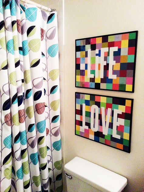 LIFE + LOVE: Paint Chip Art