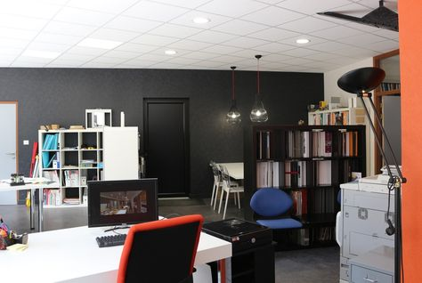Bureaux de l\u0027agence architecture d\u0027intérieur Ad Hoc Concept à #Brest