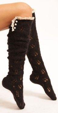 boot socks <3