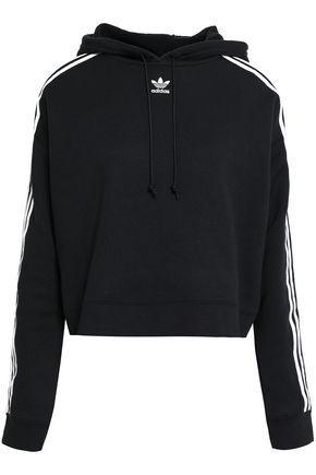 Men's Adidas Half Zip Hoodie Teo Jacket Grey Size Large