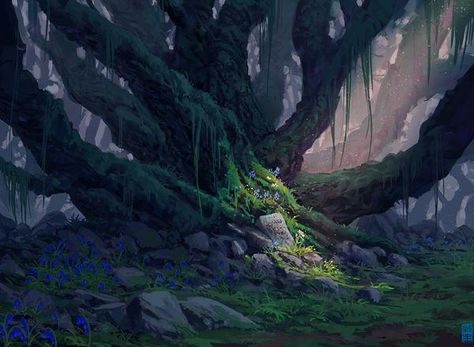 La Forêt de Pandora 8ed5ef794eaa145775207a8f5d6e25ed--environment-design-environment-concept