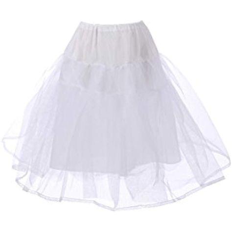 OULII Petticoat Half Slip Girl Crinoline Skirt Underskirts