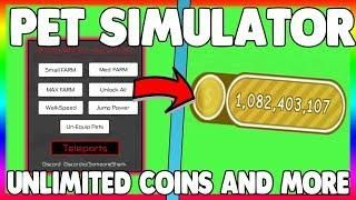 UNLIMITED COINS] NEW PET SIMULATOR HACK/GUI   UNLIMITED MOON