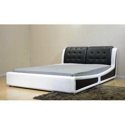 Greatime Greatime Upholstered Platform Bed Wayfair In 2020 Upholstered Platform Bed Modern Platform Bed Black Upholstered Headboard