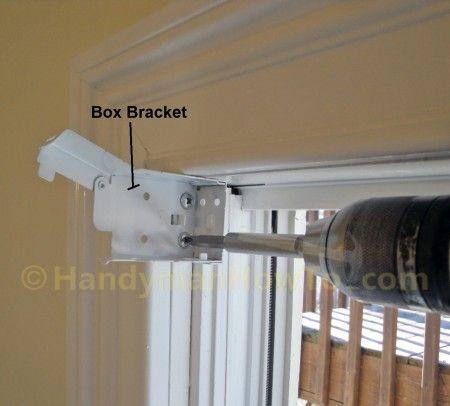 Window Blind Box Bracket Installation Faux Wood Window Blinds Blinds For Windows Diy Blinds