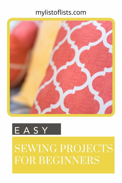 Mylistoflists.com has great tips, tricks, and ideas to make things easier on you. Find the hacks you need to coast through life now. These sewing projects look great and are easy enough for beginners!