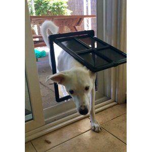 Petleso ペットドア 網戸専用 犬猫出入り口 Lサイズ 中 大型犬用 大型犬 犬の部屋 ペット