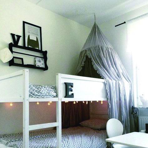 Letto A Castello Ikea Con Tenda.Ikea Bunk Beds Letto Ikea Kura Letto Con Tenda E Letti A