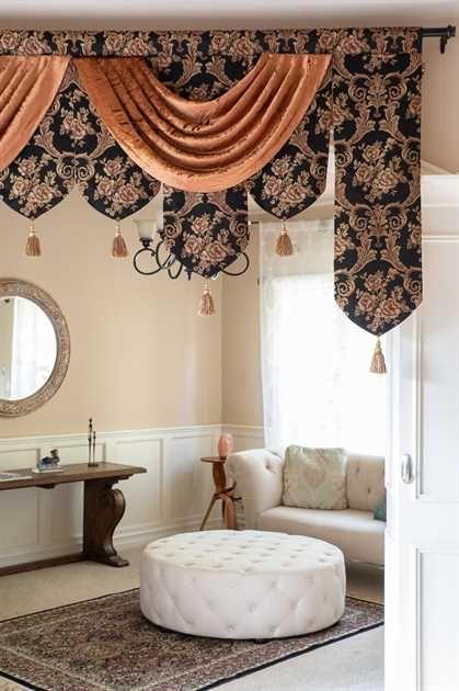 Royal Black Palace Pelmet Style 95 W Elegant Curtains Master Bedrooms Decor Outdoor Kitchen Design
