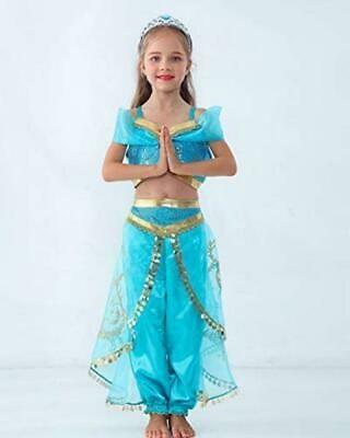 JiaDuo Girls Princess Costume Party Halloween Fancy Dress Up