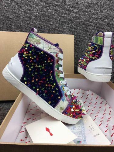 Top Colorful Pik Pik Spikes Men Shoes