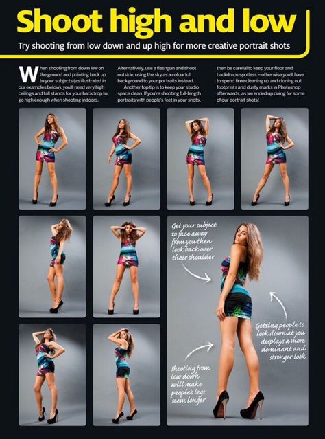 Learn Some Fun & Creative Poses For Improving Your People Pictures! - Musely