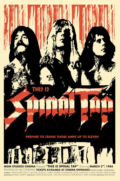 This Is Spinal Tap  This One Goes To Eleven  Minimalist Movie Poster  Unique Art Print