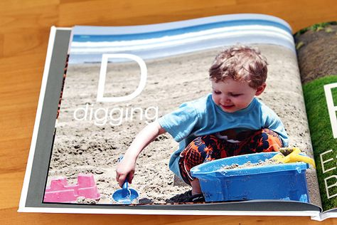 Modern Parents Messy Kids: Personalized Alphabet Book