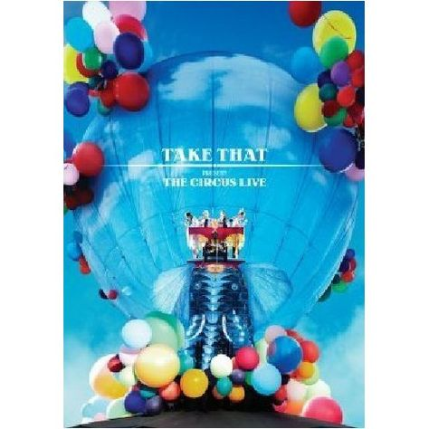 Take That The Circus Live Blu Ray Take That The Incredibles Howard Donald