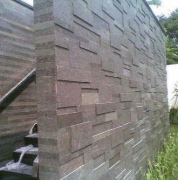 Aplikasi Batu Alam Alam Rumah Batu
