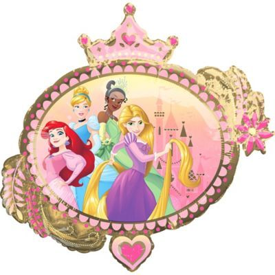 Helium Foil Balloon Princess Ariel Disney Girl Birthday Gift Deco New