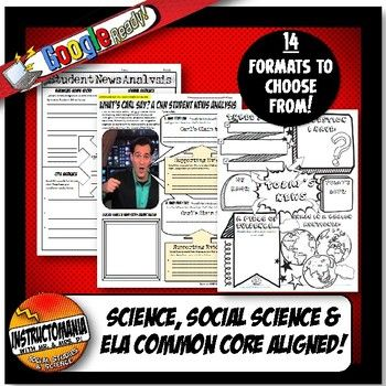 Pin On Instructomania Featured Products Lesson Plans Cnn students news worksheet
