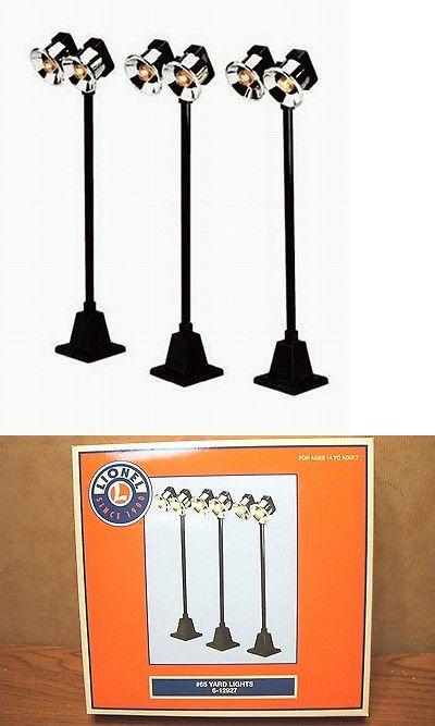 Double Lamp Post Street Lights O gauge Woodland Scenics JP5648