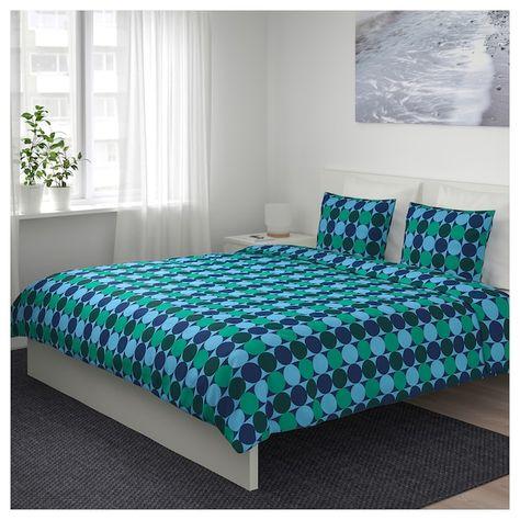 Copripiumino Blu.Krokuslilja Copripiumino E 2 Federe Blu Verde 240x220 50x80 Cm