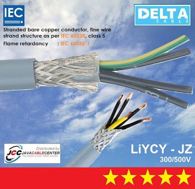 Java Cable Center Kabel Screen Liycy Jz 10x1 5mm Merk Delta In 2020 Telecommunication Systems Control Engineering Data Transmission