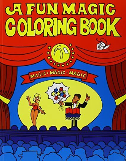 Coloring Book Magic Trick Elegant Halloween Fx Coloring Book Fun Magic In 2020 Coloring Books Books Dog Coloring Book