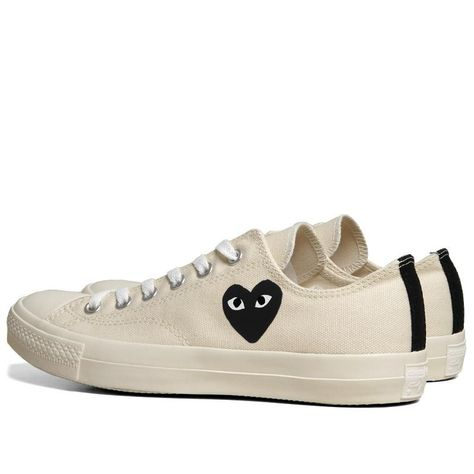 1ac9a51bfb7c Comme des Garcons Play x Converse Jack Purcell Ox (White   Black ...