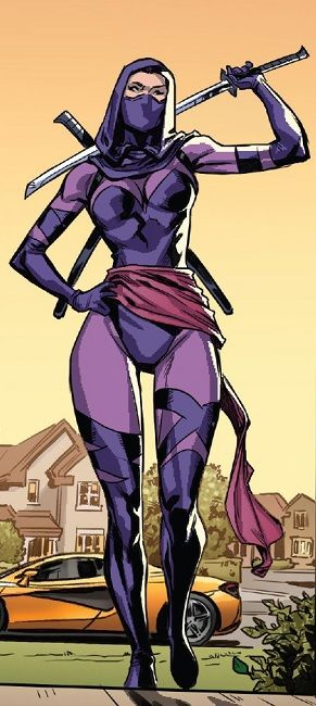 Revanche Kwannon From Uncanny X Men Vol 5 17 Superhero Comics Art Psylocke Kwannon